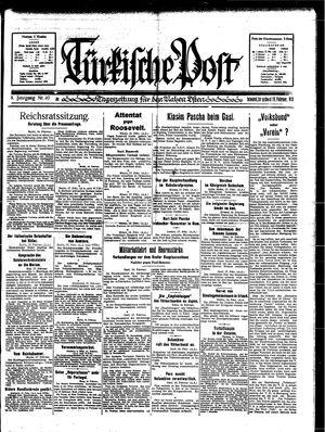 Türkische Post vom 18.02.1933