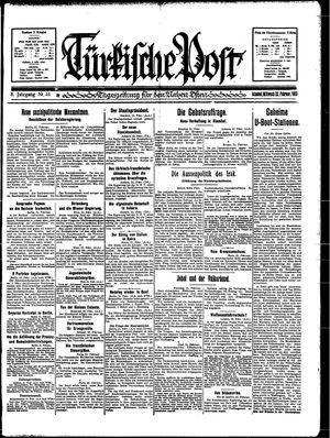 Türkische Post vom 22.02.1933