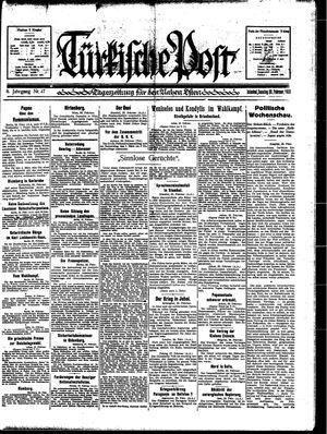 Türkische Post on Feb 26, 1933