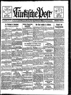 Türkische Post vom 27.02.1933