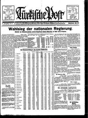 Türkische Post vom 06.03.1933