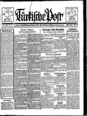 Türkische Post vom 12.03.1933