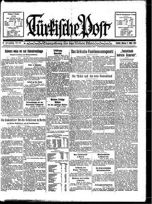 Türkische Post vom 13.03.1933