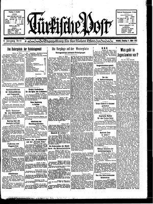 Türkische Post vom 14.03.1933