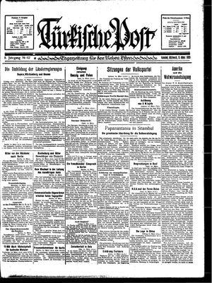 Türkische Post vom 15.03.1933