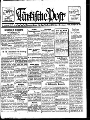 Türkische Post on Mar 16, 1933