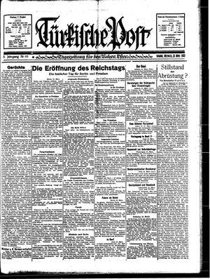 Türkische Post vom 22.03.1933