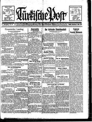 Türkische Post vom 23.03.1933