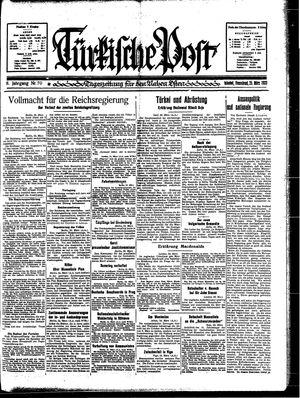 Türkische Post vom 25.03.1933