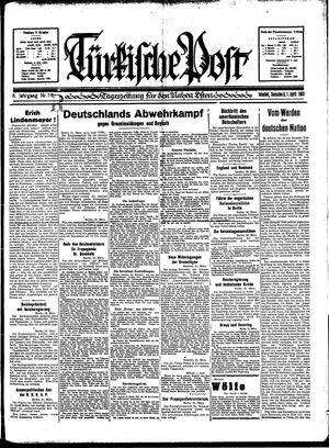 Türkische Post vom 01.04.1933