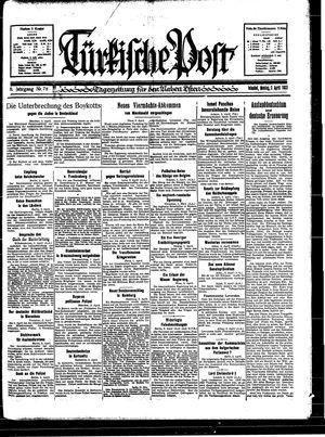 Türkische Post on Apr 3, 1933