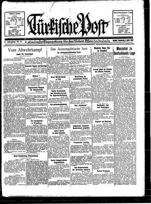 Türkische Post on Apr 6, 1933
