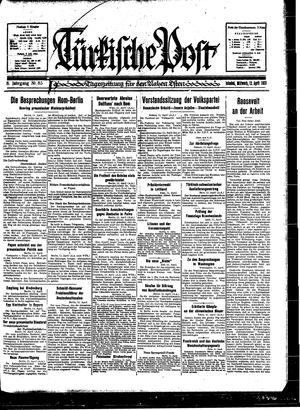 Türkische Post vom 12.04.1933