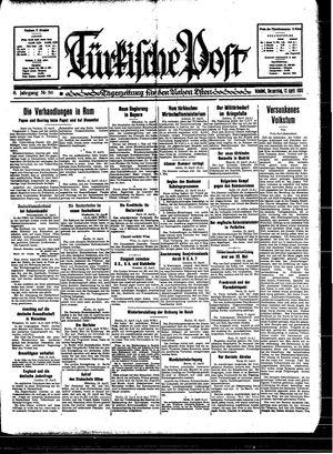 Türkische Post vom 13.04.1933