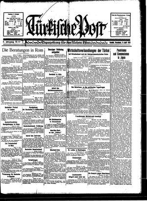 Türkische Post vom 15.04.1933