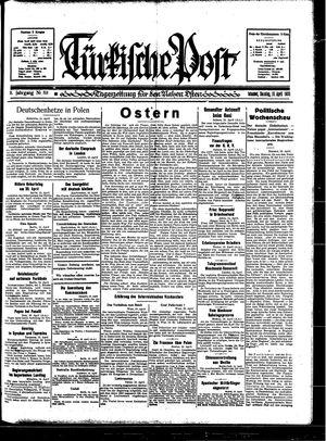 Türkische Post on Apr 16, 1933