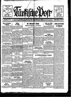 Türkische Post vom 19.04.1933
