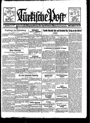 Türkische Post on Apr 22, 1933