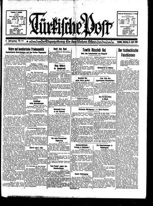 Türkische Post vom 25.04.1933
