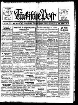 Türkische Post on Apr 29, 1933
