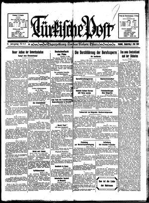 Türkische Post vom 04.05.1933