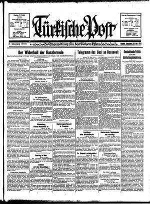 Türkische Post vom 20.05.1933