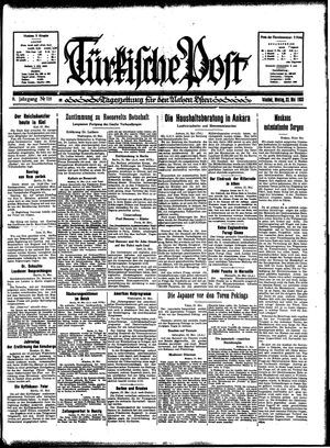 Türkische Post vom 22.05.1933