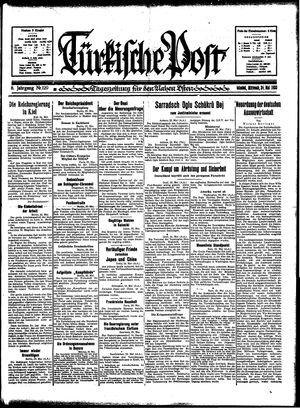 Türkische Post vom 24.05.1933