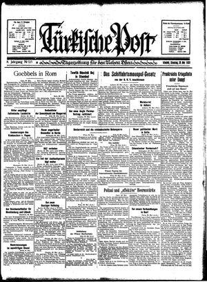 Türkische Post vom 30.05.1933