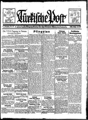 Türkische Post vom 04.06.1933