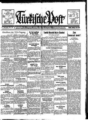 Türkische Post vom 06.06.1933