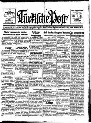 Türkische Post on Jun 10, 1933