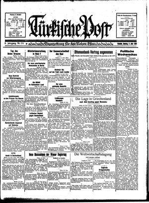 Türkische Post vom 11.06.1933