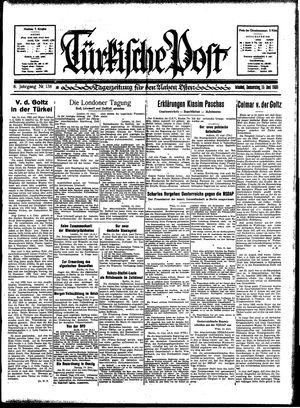 Türkische Post vom 15.06.1933