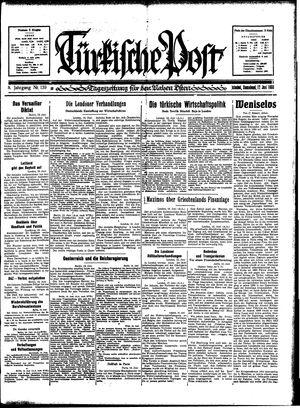 Türkische Post vom 17.06.1933