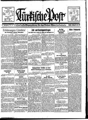 Türkische Post vom 20.06.1933