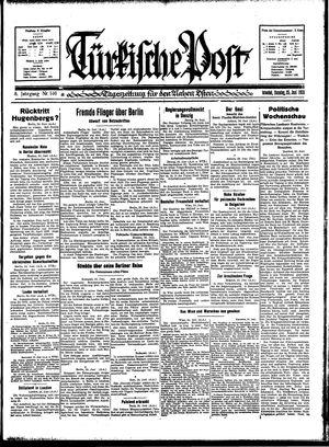 Türkische Post vom 25.06.1933