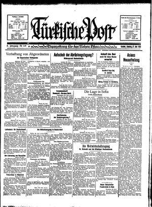 Türkische Post vom 27.06.1933
