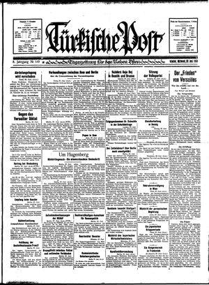 Türkische Post vom 28.06.1933