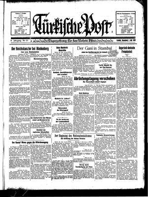 Türkische Post vom 01.07.1933