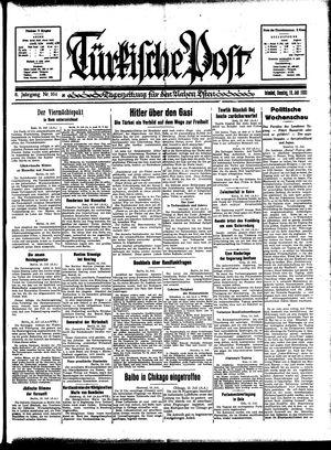Türkische Post vom 16.07.1933