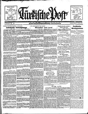 Türkische Post vom 07.01.1935