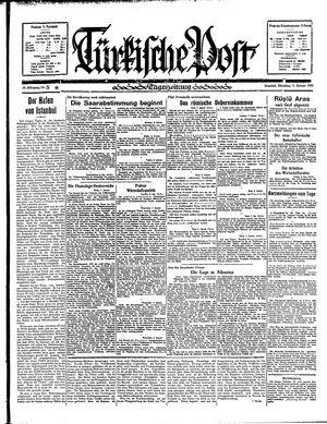 Türkische Post vom 08.01.1935