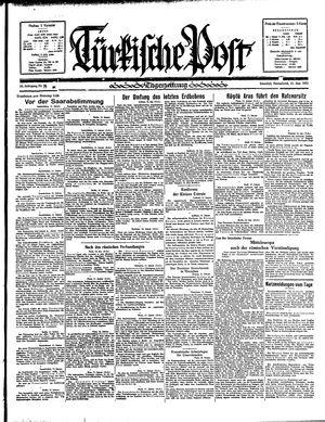 Türkische Post on Jan 12, 1935