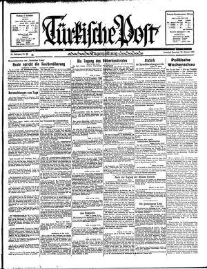 Türkische Post on Jan 13, 1935