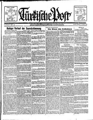 Türkische Post on Jan 14, 1935