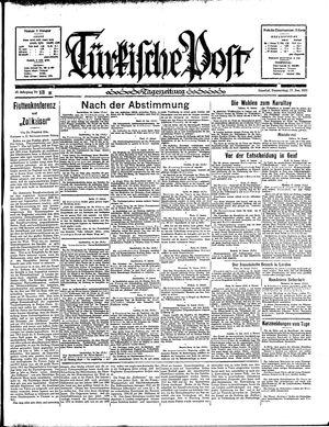 Türkische Post vom 17.01.1935