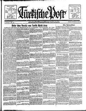 Türkische Post vom 19.01.1935