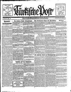 Türkische Post vom 21.01.1935