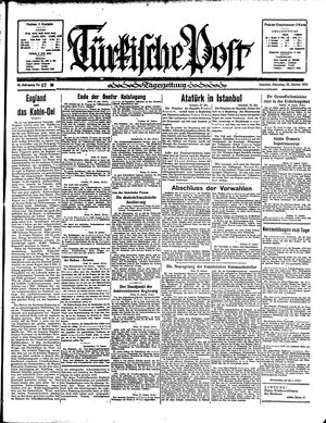 Türkische Post on Jan 22, 1935